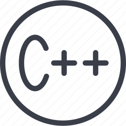 c++, code, coding, development, language, programming, web icon