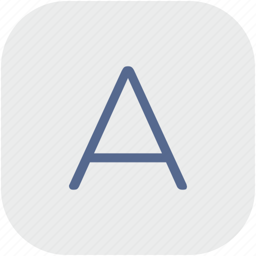 a, acoustic, app, gray, letter, soundproof, soundproofing icon