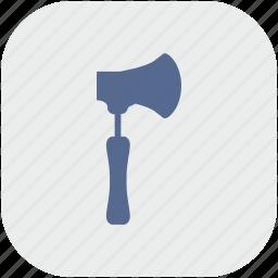 app, ax, axe, cleaver, gray, hatchet icon