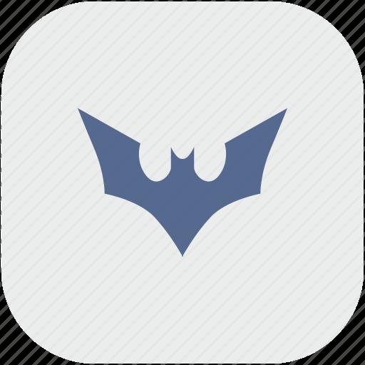 app, bat, batman, comics, fly, gray icon