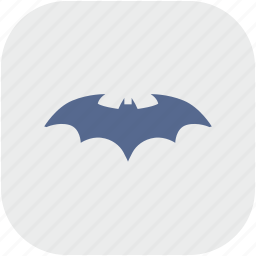 app, bat, batman, comics, gray, hero icon