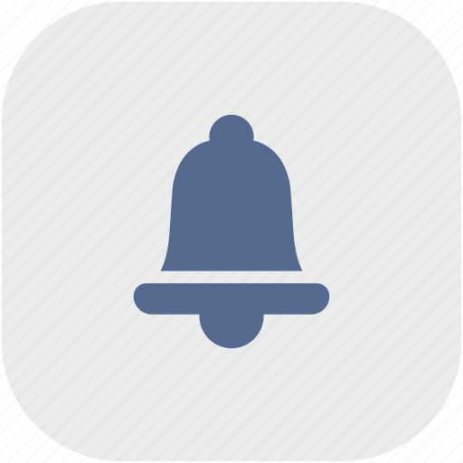 alarm, app, bell, gray, ring icon