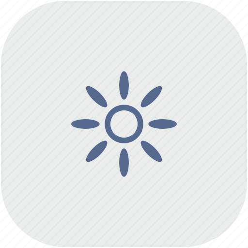 app, brightness, color, gray, printer icon