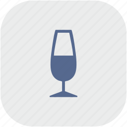 alcohol, app, champagne, drink, gray icon