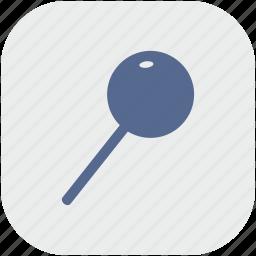 app, chupa, chups, food, gray, sweet icon