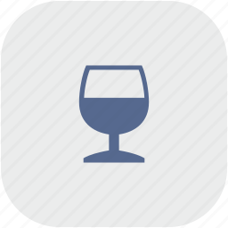 alcohol, app, bocal, cognat, drink, gray icon