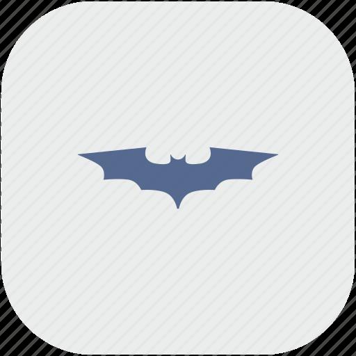 app, bat, batman, comics, gray, hero icon