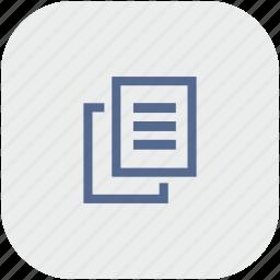 app, copy, file, gray, printer, xerox icon