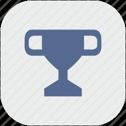 app, champion, championship, cup, gray, winner icon