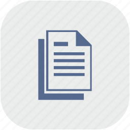 app, copy, doc, document, file, gray icon