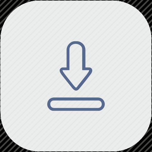 app, download, file, gray, transfer icon