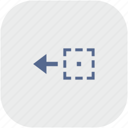 app, area, drag, drop, gray, object, side icon