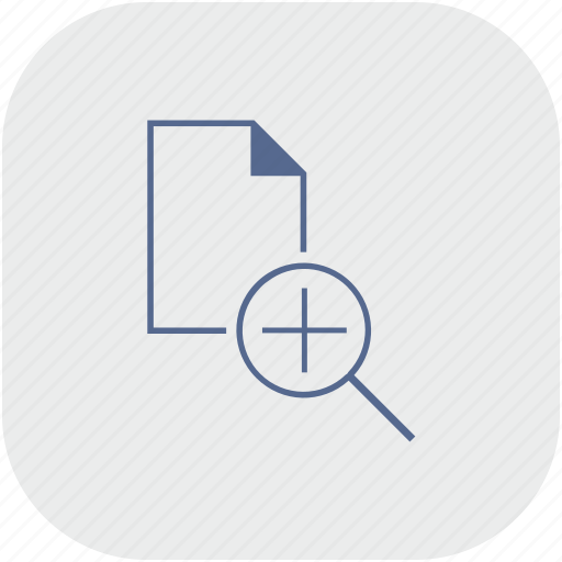 app, document, file, gray, plus, scale icon