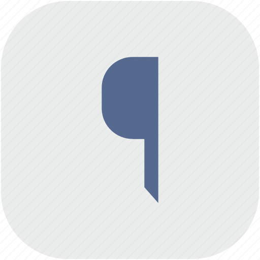 edit, flag, pointer, rounded, square, text icon