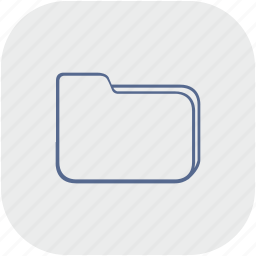 app, document, file, folder, gray icon