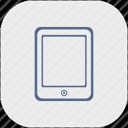 app, ebook, gray, ipad, reading icon