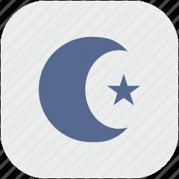 app, arabic, gray, islam, religion icon