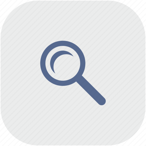 app, gray, instrument, loop, magnifier, scale icon
