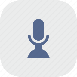 app, gray, mic, microphone, rec, record icon