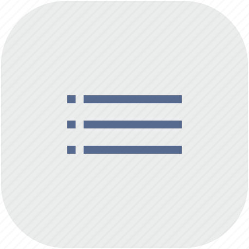 app, gray, list, listing, order icon