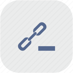 cut, erase, function, href, link, rounded, seo icon