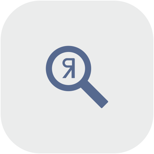 optimization, rounded, scan, search, seo, square, yandex icon