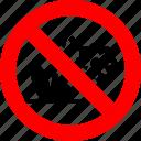 do not break, flower, pick, plant, prohibited, prohibition, sign
