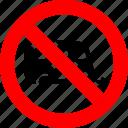 camp, caravan, mobile home, prohibited, prohibition, sign, trailer