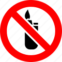 fire, flame, lighter, prohibited, prohibition, sign