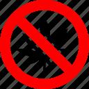 cannabis, drug, marijuana, no, prohibited, prohibition, sign
