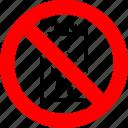 elevator, lift, no, persons, prohibition, transportation, use