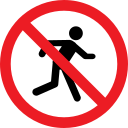 forbidden, warning, prohibition, people icon