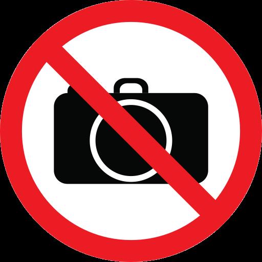 camera, forbidden, impossible, prohibition icon