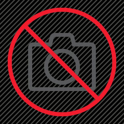 ban, camera, forbidden, no, photo, prohibition, stop icon