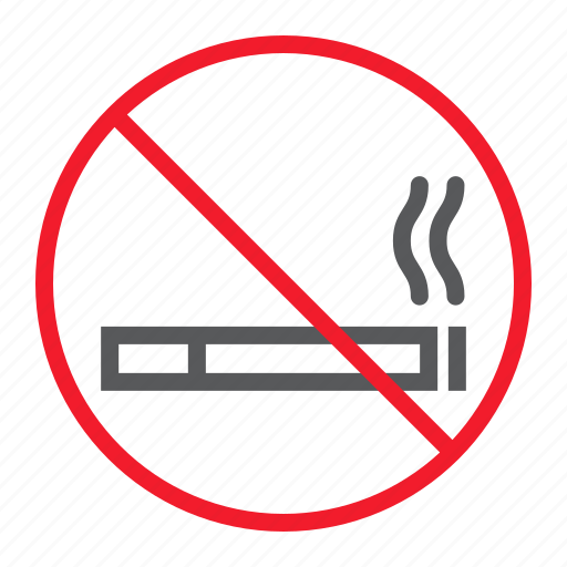 ban, cigarette, forbidden, no, prohibition, smoking, stop icon