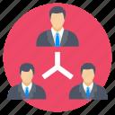 collaboration, management, organization, team, teamwork icon