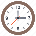 business clock, hourglass, time, wall clock, watch icon
