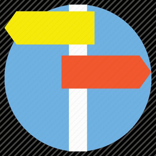 Finger post, guidepost, navigation, signboard, signpost icon - Download on Iconfinder