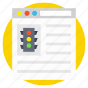 project management, project review, project strategy, web status, work status icon