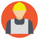 architect, engineer, industrial employee, worker, workforce icon