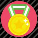 star medal, winner, best performance, achievement, first rank
