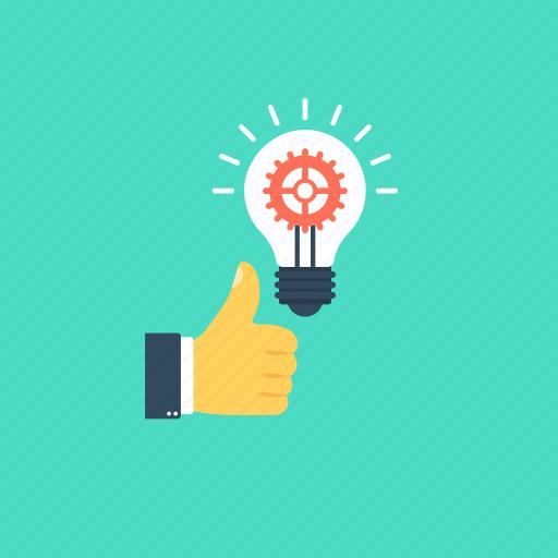 best performance, creative idea, good idea, innovation, problem solving icon