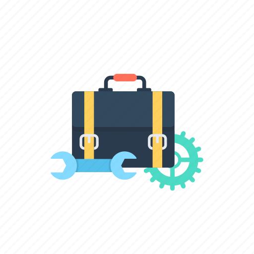business analysis, business management, process flow, program management, project management icon