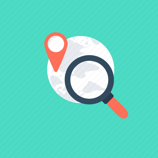 discovery concept, global search, internet browsing, internet search, web search icon