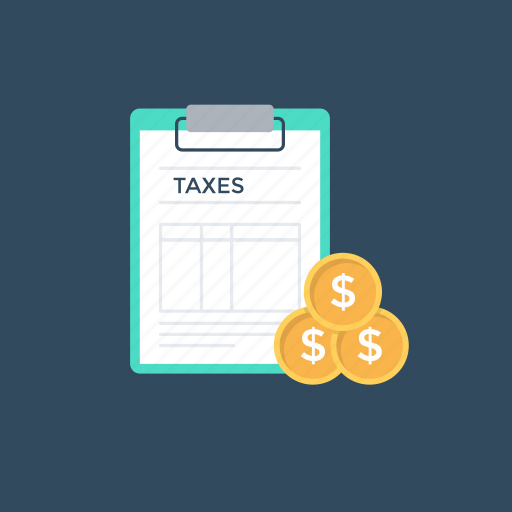 charge, excise, tariff, taxes, toll icon