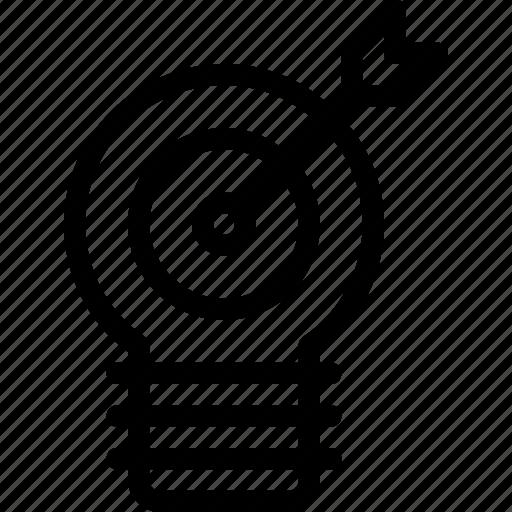 creative, idea, seo, solution, target icon