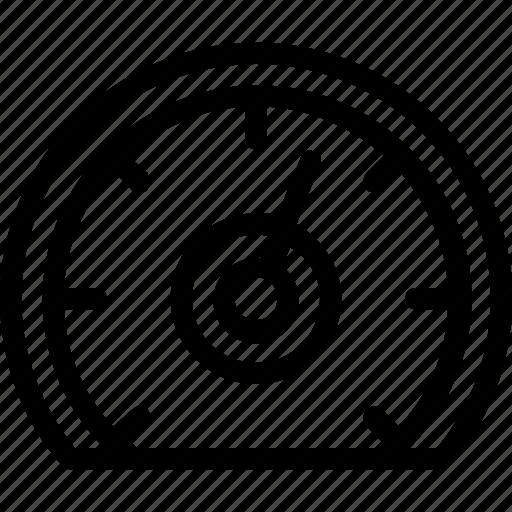 analytic, gauge, monitoring, seo, speed icon