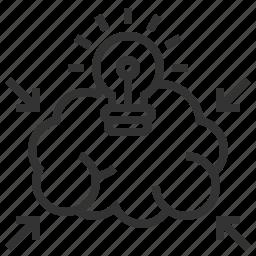 brainstorm, business, creative, data, design, graphic icon
