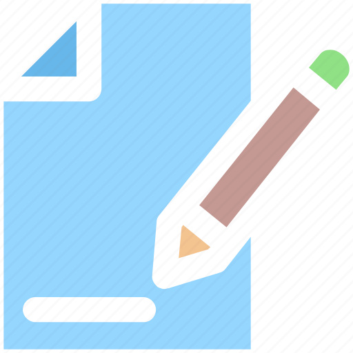 Document, file, page, pen, sheet, text icon - Download on Iconfinder
