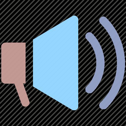 Announcement, loudspeaker, megaphone, speaker, volume icon - Download on Iconfinder
